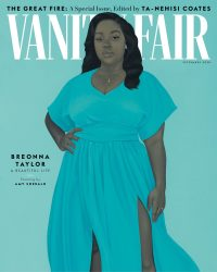 Breonna Taylor on front of Vanity Fair
