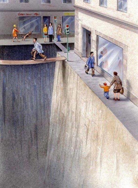 pedestrian dangers